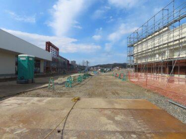 ゲンキー福井南店建設の様子 2021.2
