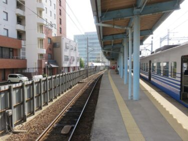 【えちぜん鉄道高架化工事記録11-1】(2015.9)仮線切り替え前日1