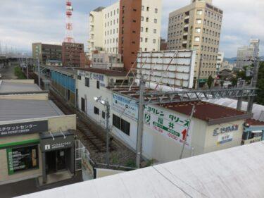 【えちぜん鉄道高架化工事記録11-2】(2015.9)仮線切り替え前日2