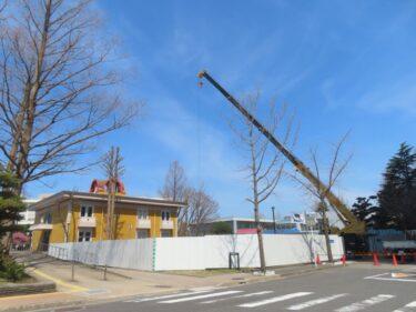 福井大学新国際センター建設の様子 2021.3