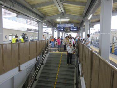 【えちぜん鉄道高架化工事記録11-6】(2015.9)仮線切替え後当日2