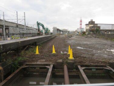 【えちぜん鉄道高架化工事記録12-1】(2015.11)地上線撤去①-1