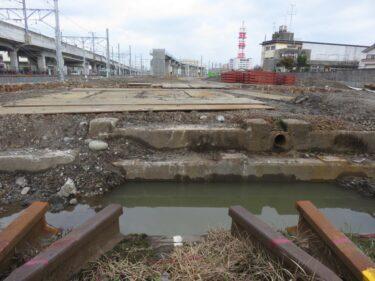 【えちぜん鉄道高架化工事記録13-1】(2016.1)地上線撤去②-1