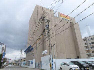 ポレスター福井さくらレジデンスの建設の様子 2021.5