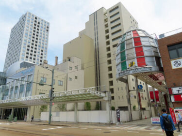 【ハニー跡地再開発工事記録12】(2021.5~)商業施設棟建設