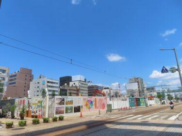 【三角地帯再開発A工事記録41】(2021.5)廃止市道北側解体5