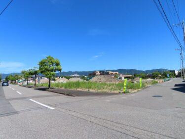 福井県知事公舎跡地開発の様子 2021.7 【エーシンガーデン若杉】