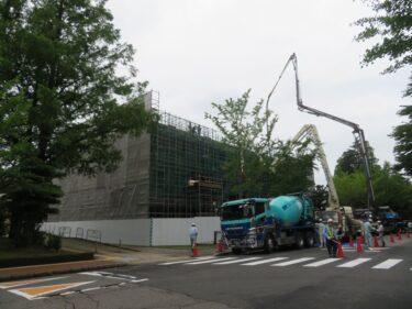 福井大学新国際センター建設の様子 2021.7