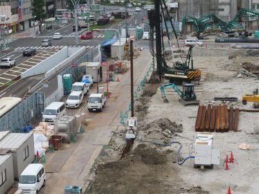 【三角地帯再開発A工事記録45】(2021.7)更地化3