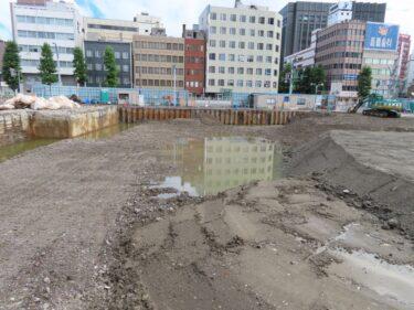 【三角地帯再開発A工事記録49】(2021.8)更地化7