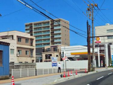 ポレスター福井さくらレジデンスの建設の様子 2021.9