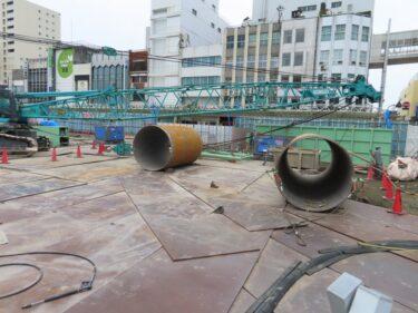 【三角地帯再開発A工事記録51】(2021.9)更地化9