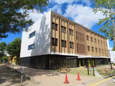 福井大学新国際センター建設の様子 2021.10