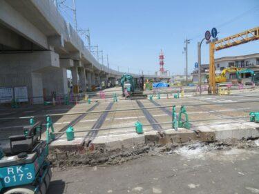 【えちぜん鉄道高架化工事記録23-2】(2018.5)高架完成-2