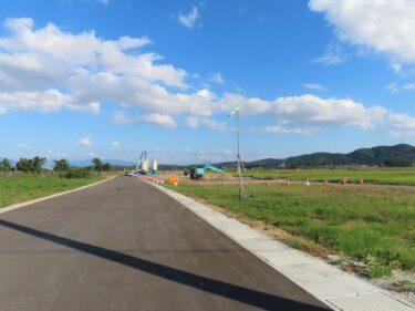 国道416号白方~布施田バイパス工事に土地収用法適用 2021.10